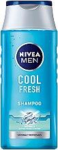 Profumi e cosmetici Shampoo per uomo - Nivea For Men Cool Fresh Mentol Shampoo