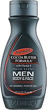 Profumi e cosmetici Lozione corpo da uomo - Palmer's Cocoa Butter Formula Men Body & Face Lotion