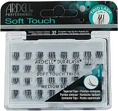 Profumi e cosmetici Ciglia finte - Ardell Soft Touch Trio Individuals Medium Black