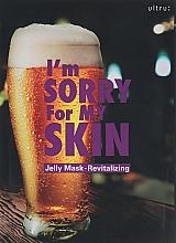 Profumi e cosmetici Maschera viso rivitalizzante - Ultru I'm Sorry For My Skin Jelly Mask Revitalizing