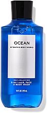 Profumi e cosmetici Gel doccia 3 in 1 per viso, corpo e capelli - Bath and Body Works Men`s Collection Ocean 3 In 1 Hair, Face & Body Wash