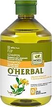 Profumi e cosmetici Shampoo volumizzante per capelli fini con estratto di arnica - O'Herbal