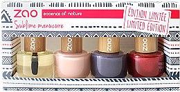 Profumi e cosmetici Set - Zao Limited Edition Christmas Nail Polish Box