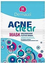 Profumi e cosmetici Maschera pelle grassa, mista e acneica - Dermacol Acne Clear Mask