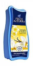 Profumi e cosmetici Gel assorbiodori - Felce Azzurra Gel Air Freshener Vanilla & Monoi