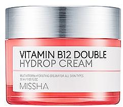 Profumi e cosmetici Crema idratante con vitamina B12 - Missha Vitamin B12 Double Hydrop Cream