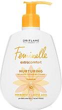Profumi e cosmetici Gel-crema emolliente per l'igiene intima - Oriflame Feminelle Nurturing Intimate Cream