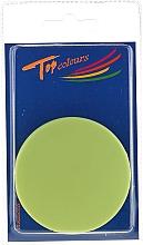 Specchietto tascabile rotondo 85543, verde neon - Top Choice Colours Mirror — foto N1