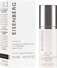 Profumi e cosmetici Elisir illuminante viso e contorno occhi - Jose Eisenberg Pure White Face & Eyes Illuminating & Perfecting Gel