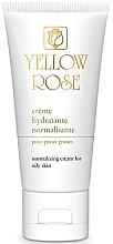 Profumi e cosmetici Crema da giorno riequilibrante - Yellow Rose Creme Hydratante Normalisante