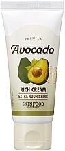 Profumi e cosmetici Crema per pelli screpolate e secche con estratto di avocado - SkinFood Premium Avocado Rich Cream