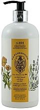 """Profumi e cosmetici Sapone liquido """"Lavada e calendula"""" - La Florentina Lavender & Marigold Hand & Body Soap"""
