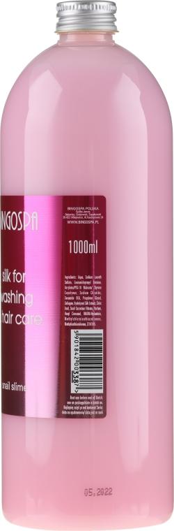 Shampoo capelli - BingoSpa Silk For Hair Washing With Snail Slime — foto N4