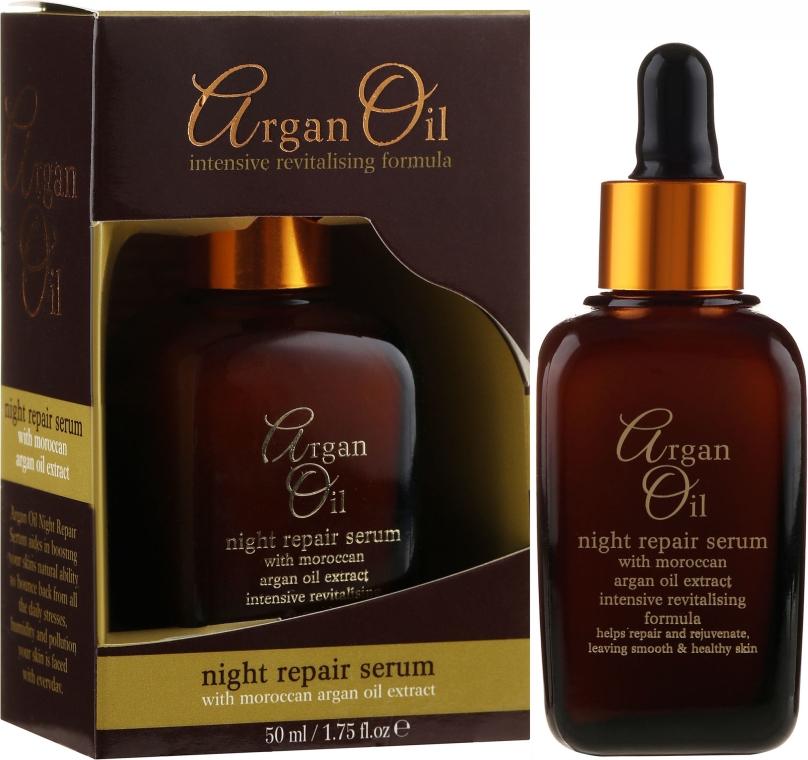 Siero viso rigenerante, da notte - Xpel Marketing Ltd Argan Oil Night Repair Serum