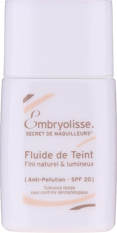 Fluido viso - Embryolisse Secret De Maquilleurs Liquid Foundation Spf 20 — foto N1