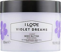 """Profumi e cosmetici Burro corpo """"Violet Dreams"""" - I Love Violet Dreams Body Butter"""