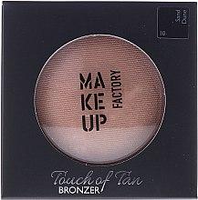 Profumi e cosmetici Bronzer viso - Make up Factory Touch Of Tan Bronzer