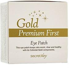 Profumi e cosmetici Maschera contorno occhi - Secret Key Gold Premium First Eye Patch
