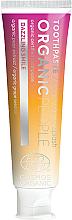 Profumi e cosmetici Dentifricio sbiancante per denti sensibili - Organic People Champagne Splash Toothpaste