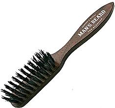 Profumi e cosmetici Spazzola per barba e baffi con manico - Man'S Beard Beard And Mustache Brush