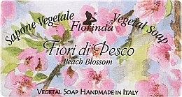 """Profumi e cosmetici Sapone naturale """"Fiori di Pesco"""" - Florinda Sapone Vegetal Soap Peach Blossom"""
