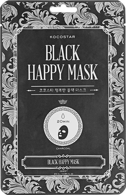 Maschera viso purificante - Kocostar Black Happy Mask — foto N1