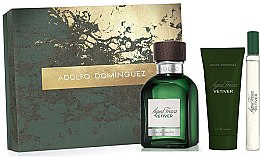 Profumi e cosmetici Adolfo Dominguez Agua Fresca Vetiver - Set (edt/120ml + asb/75ml + edt/mini/20ml)