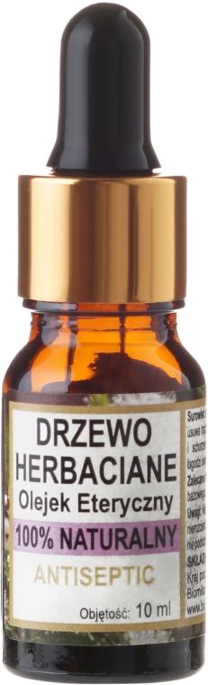 Olio esenziale dell'albero del tè - Biomika Tea Tree Oil