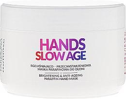 Profumi e cosmetici Maschera alla paraffina per mani - Farmona Hands Slow Age Brightening And Anti-ageing Paraffin Hand Mask