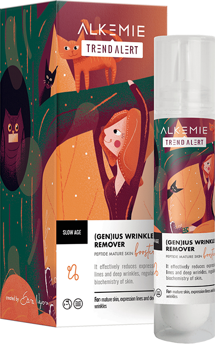 Booster peptidico per la pelle matura - Alkemie Slow Age Genius Wrinkle Remover — foto N1