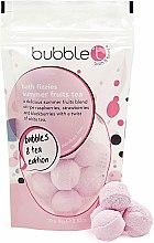 """Profumi e cosmetici Bombe da bagno """"Tè alla frutta estiva"""" - Bubble T Bath Fizzies Summer Fruits Tea"""