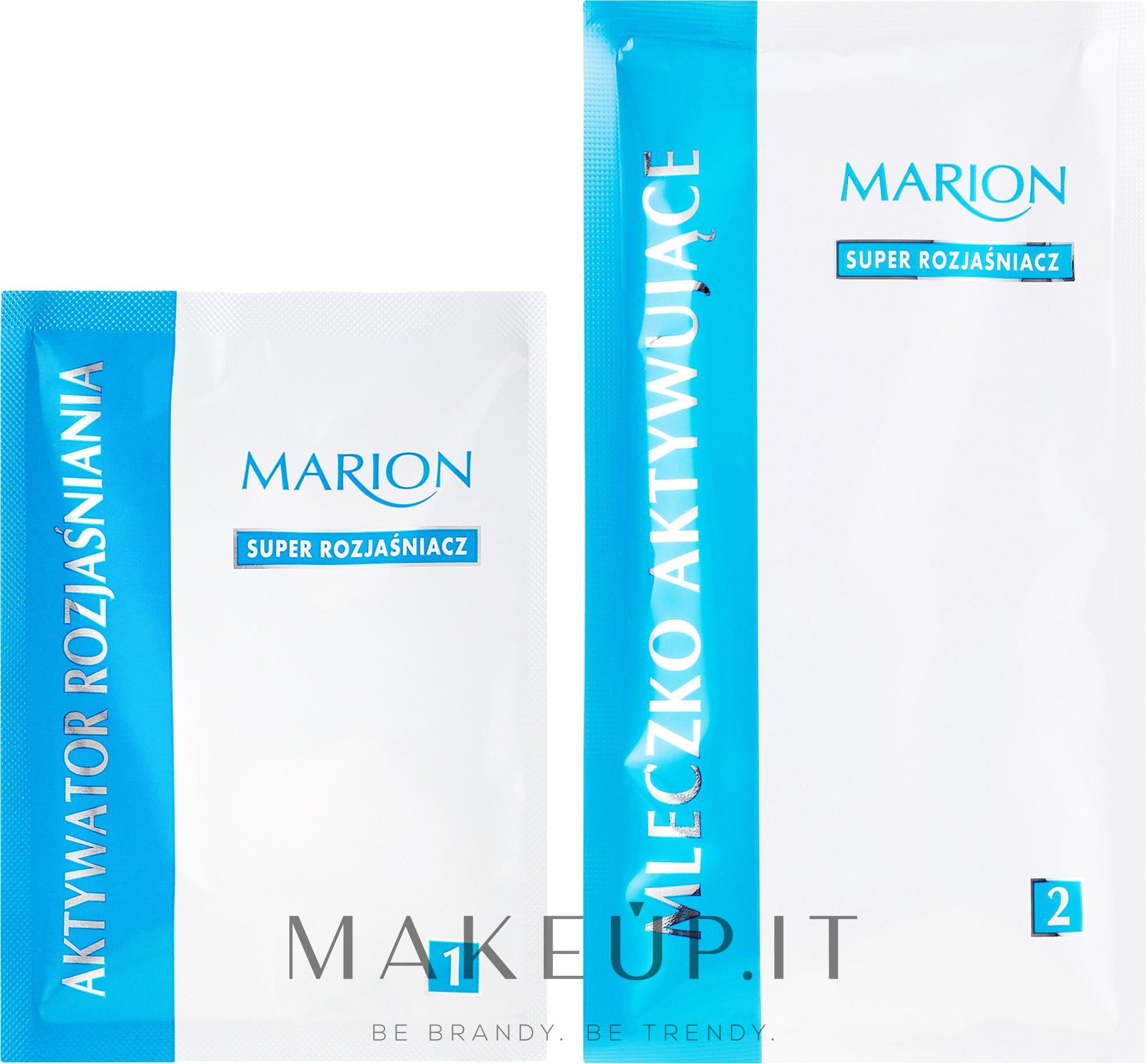 Tinta decolorante mèches №986 - Marion Super Brightener — foto 90 ml