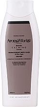 Profumi e cosmetici Gel corpo lenitivo da uomo - AromaWorks Men's Calming Body Wash