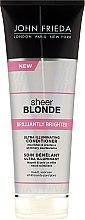 Profumi e cosmetici Condizionante lucidante per capelli biondi - John Frieda Sheer Blonde Brilliantly Brighter Conditioner