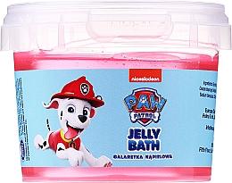 Profumi e cosmetici Gelatina da bagno, Marshall, lampone - Nickelodeon Paw Patrol