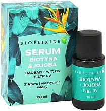 "Profumi e cosmetici Siero per capelli ""Biotina e jojoba"" - Bioelixire Serum Biotin & Jojoba"