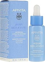 Profumi e cosmetici Booster rinfrescante e idratante - Apivita Aqua Beelicious Refreshing Hydrating Booster With Flowers
