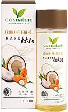 """Profumi e cosmetici Burro corpo """"Mandorle e cocco"""" - Cosnature Aromatherapy Body Oil Almond & Coconut"""