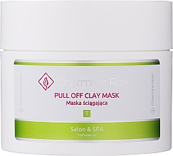 Profumi e cosmetici Maschera viso all'argilla - Charmine Rose Pull Off Clay Mask