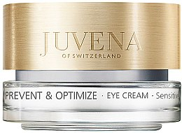Profumi e cosmetici Crema contorno occhi, per pelli sensibili - Juvena Skin Optimize Eye Cream Sensitive