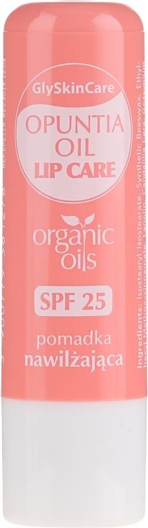 Balsamo labbra con olio di fico d'India biologico - GlySkinCare Organic Opuntia Oil Lip Care