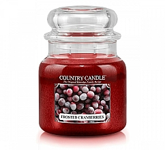 Profumi e cosmetici Candela profumata - Country Candle Frosted Cranberries