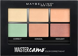 Profumi e cosmetici Kit per il contouring del viso (corettore, concealer, highlighter) - Maybelline Master Camo Color Correcting Concealer Kit