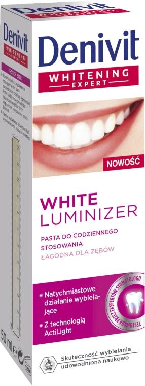 "Dentifricio ""White Luminizer"" - Denivit"