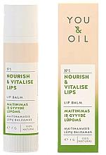 """Profumi e cosmetici Balsamo labbra """"Nutrizione e rivitalizzazione"""" - You & Oil Nourish & Vitalise Lip Balm"""