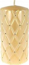 Profumi e cosmetici Candela decorativa, 14 cm, color crema - Artman Florence Candle