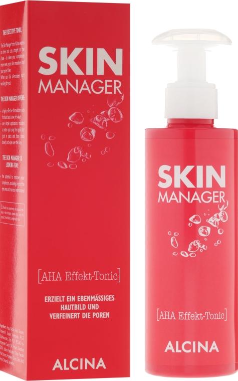 Tonico viso, con acidi di frutta - Alcina Skin Manager Tonic