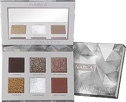 Profumi e cosmetici Palette di ombretti - Nabla Cutie Collection Palette Platinum