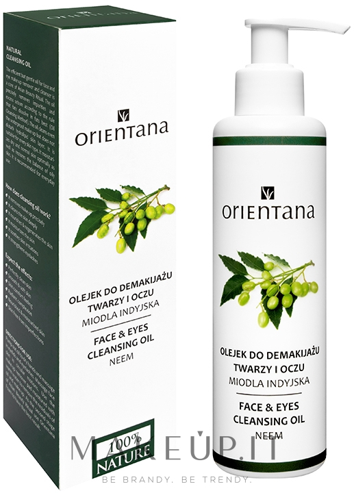 Olio struccante - Orientana Nourishing Cleansing Oil For Face & Eyes Neem — foto 150 ml