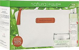 Profumi e cosmetici Set - Collistar Natura (cr/50ml + water/150ml + pounch)